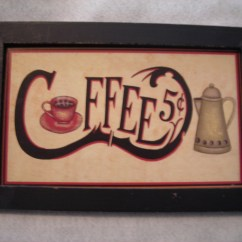 Coffee Decor For Kitchen Tile Backsplash In Cute Sign Anyone C