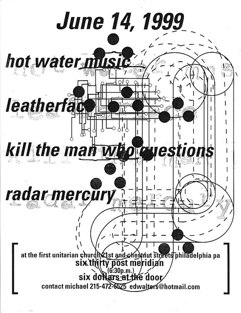 Hot Water Music, Leatherface, Kill the Man Who Questions