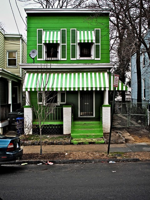 "The Green House, ""U"" Street SE, Historic Anacostia, Washington, DC"