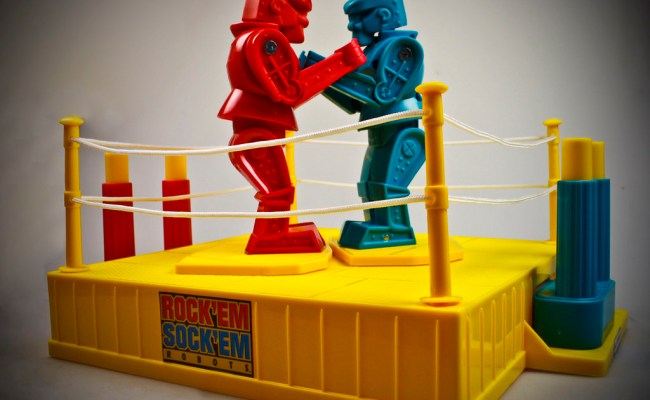 Rock'em Sock'em Robots!
