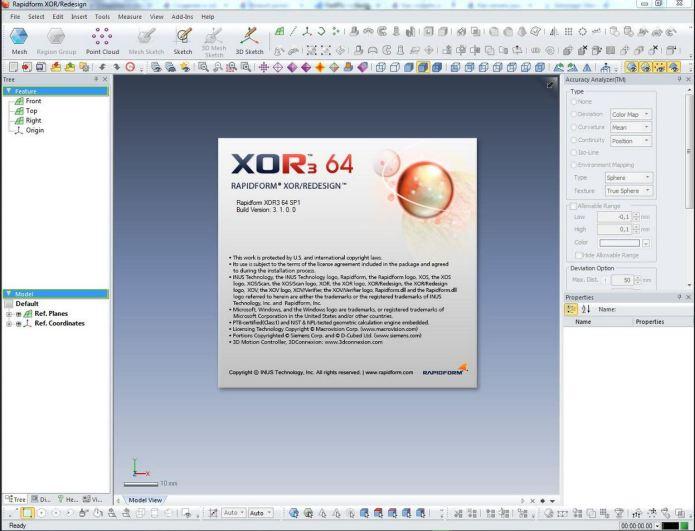 Inus Rapidform XOR3 SP1 3.1.0.0 x64 full license
