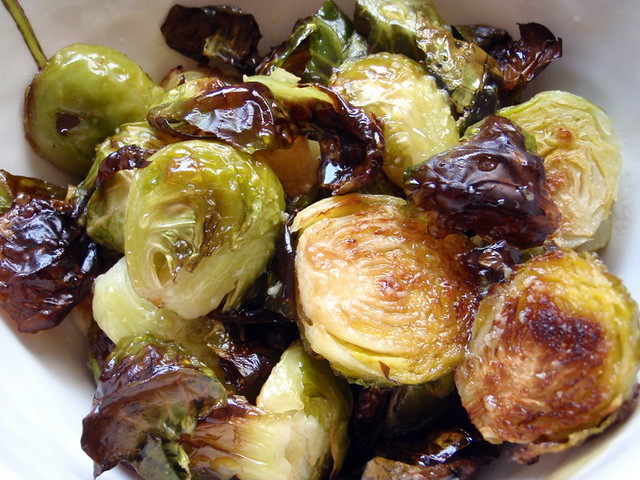 Faux Momofuku Brussel Sprouts