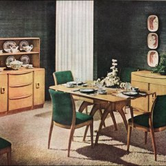 Heywood Wakefield Dining Table And Chairs Wooden Rocking Chair Cushions 1950s Room | Flickr - Photo Sharing!