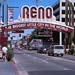 Amtrak California Zephyr at Reno Nevada.  June 25 1999.