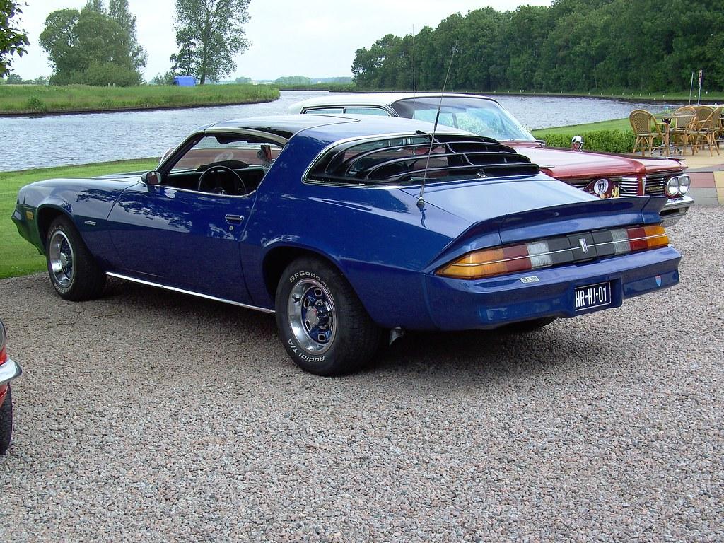 Chevrolet Camaro Hasta Hoy 2 Generacin 1970 1981