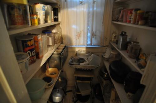 Pre-closing: Pantry interior