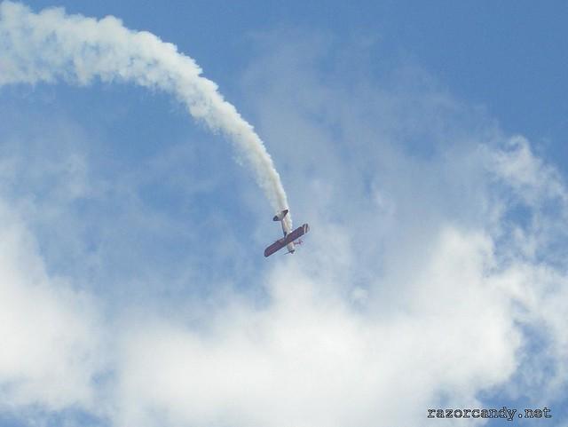 2 CIMG4325 Team Guinot wingwalkers _ City Airport - 2007 (7th July)