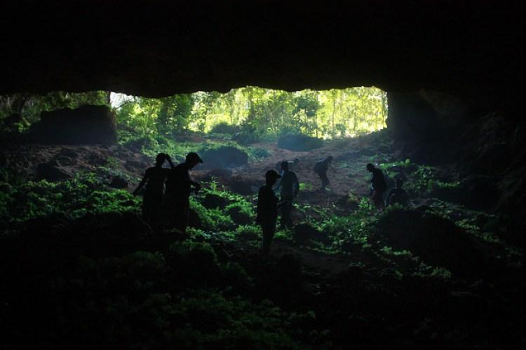 Langon-Gobingob Cave Descent