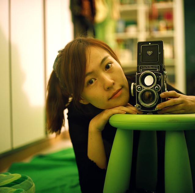 Self ♥ portrait, TLR girl