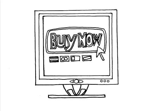 Buy now screen