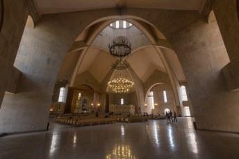 Gebouwd in 1997-2001, en het is de grootste Armeense kerk ter wereld.