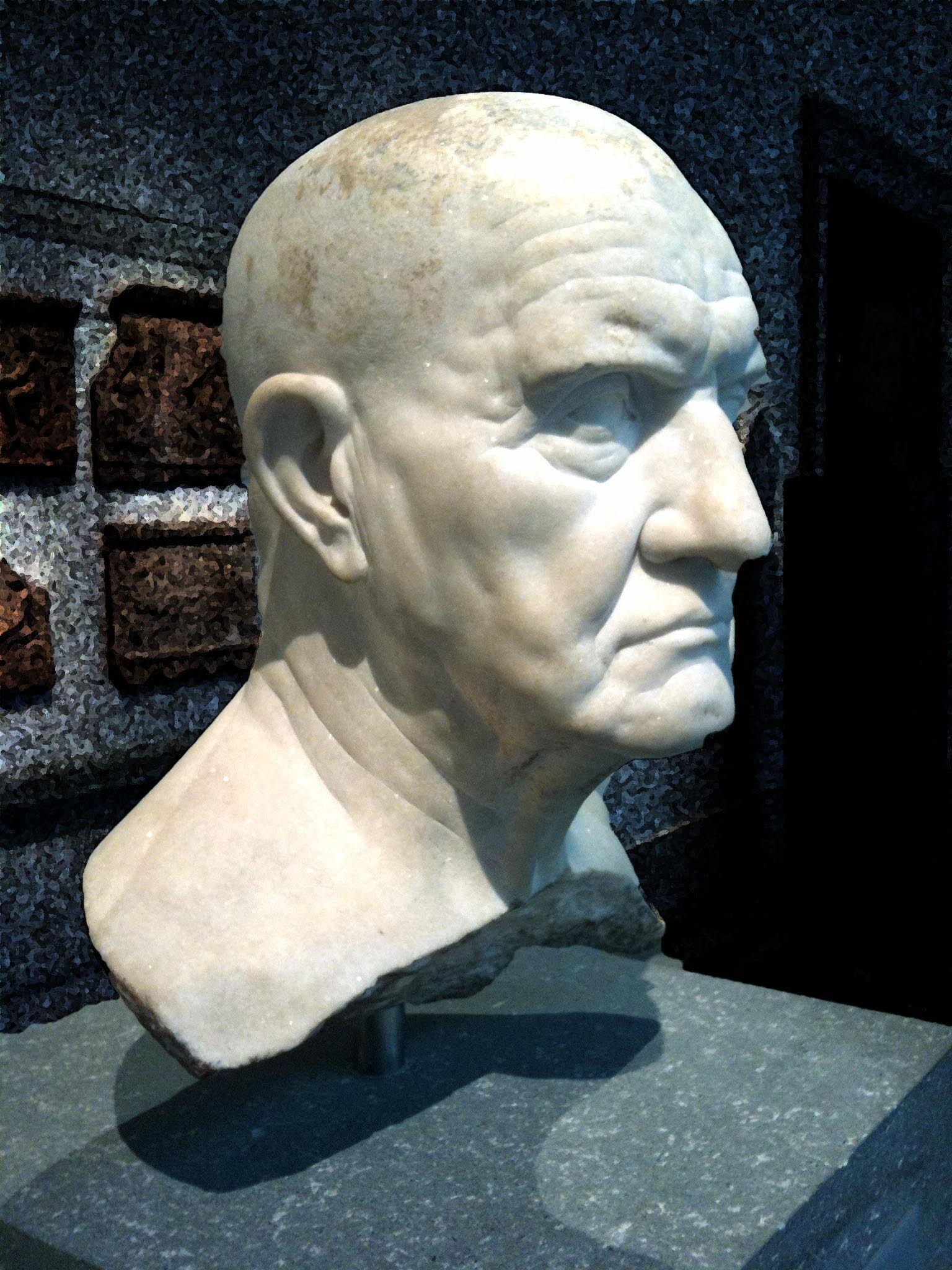 Portrait bust of a man 1st century bc  Portrait bust