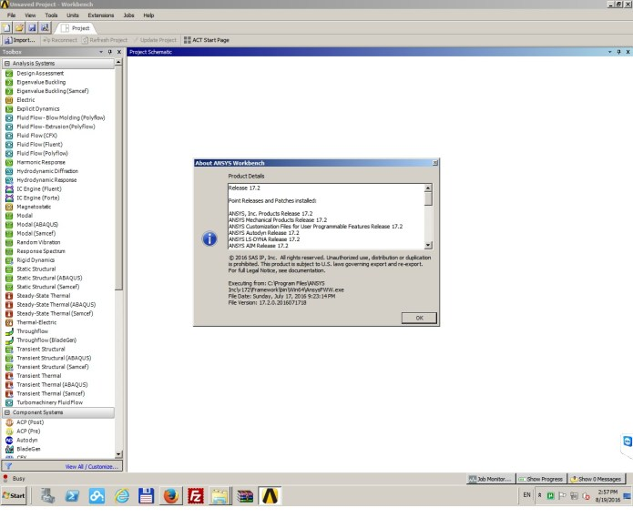 Working with ANSYS Products 17.2 Win64 full license
