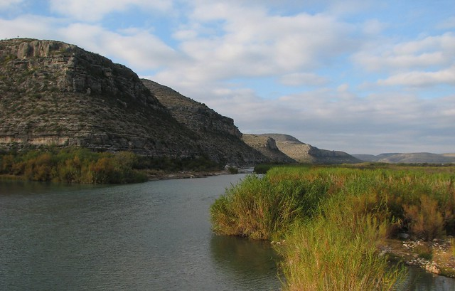 Pecos River At Remote Pandale Crossing Texas Picture A