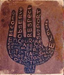 encourage + teach