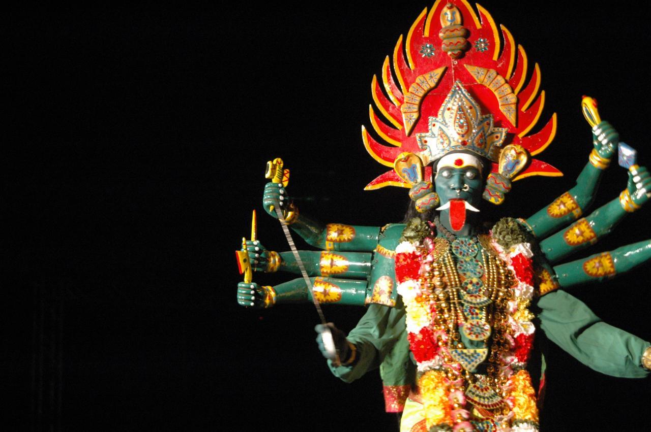 Koothu attam, traditional story telling, Tamilnadu, India