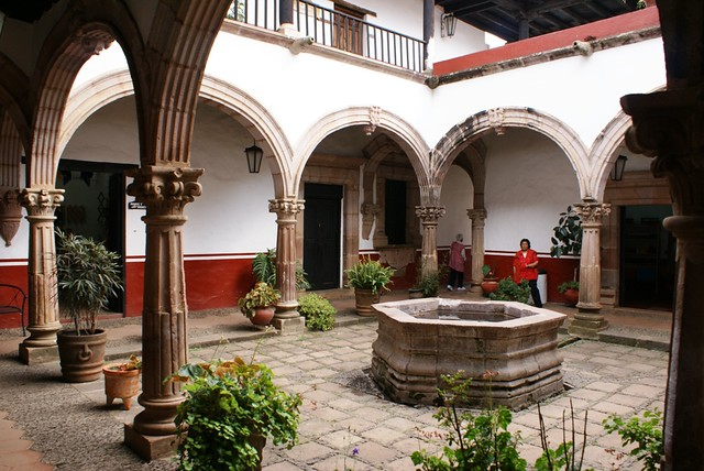 26 ACTUAL CASA DE LOS ONCE PATIOS Ptzcuaro Michoacn