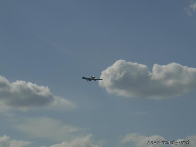 15 P1130851 Druine D.31 Turbulent {G-ARGZ}  _ City Airport - 2009 (4th July)