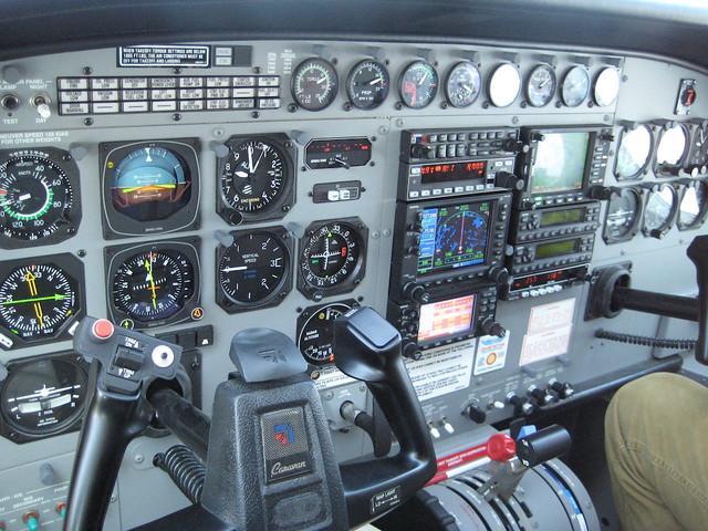 Tableau de bord  Instrument panel  Cessna 208 Caravan