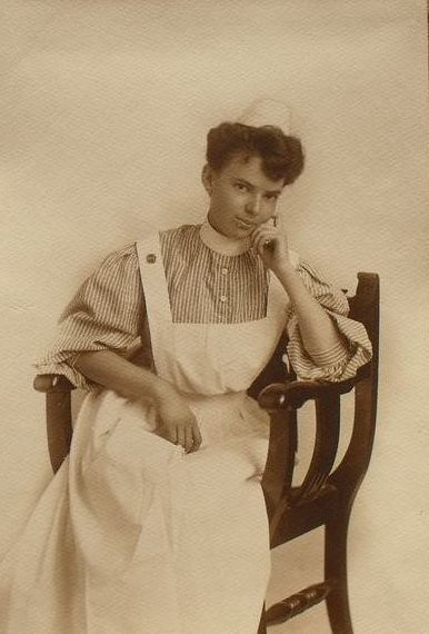 Late 1800s Early 1900s California Nurse Photograph  Flickr  Photo Sharing