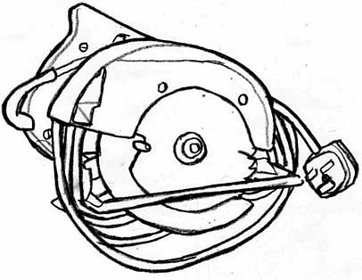 How to install circular saw blade ryobi, dewalt battery