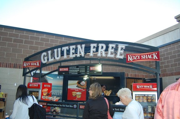Gluten-Free Concession Stand at Citifield