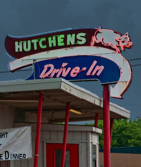 Hutchens Drive-In - Benton, Kentucky U.S.A. - May 15, 2010