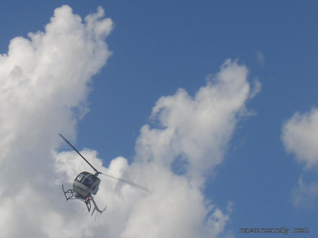 3 CIMG4299 Schweizer Helicopter {G-BWAV} _ City Airport - 2007 (7th July)