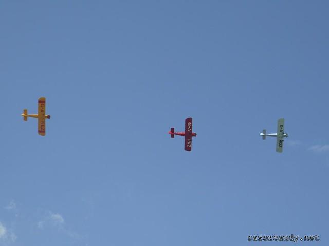 7 P1130834 Druine D.31 Turbulent {G-ARGZ} {G-APVZ} {G-ARBZ} _ City Airport - 2009 (4th July)