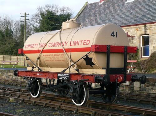 Consett Iron Company 10-Ton Tank Wagon