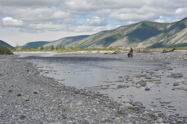 Progress downriver