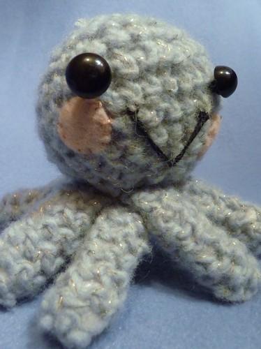 Baby octopus crochet amigurumi by EnglishGirlAbroad