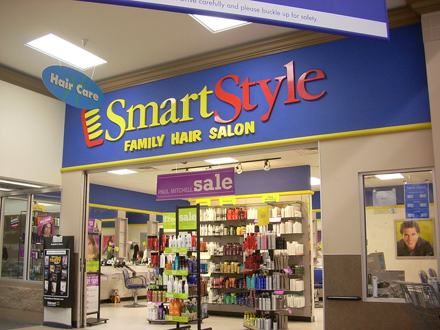 SmartStyle A SmartStyle Family Hair Salon Inside Of A