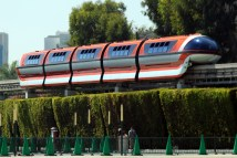 Disneyland Monorail - Sharing