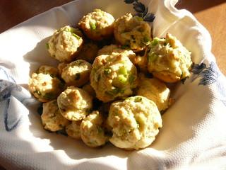 Scallion Muffins