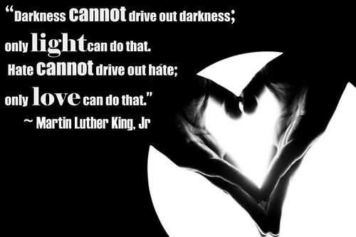 Love conquers Darkness
