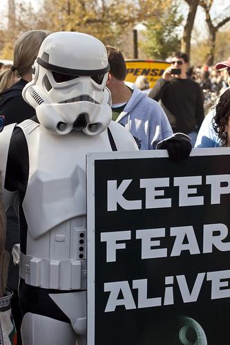2010 10 30 - 9376 - Washington DC - Fear-Sanity Rallies