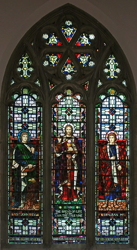 East window, Cornish Hall End by TheRevSteve