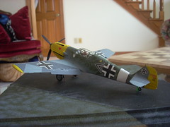 Bf-109 Back Perspective
