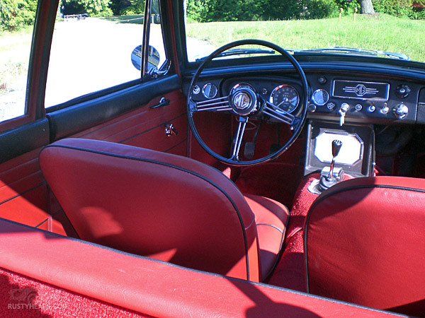 Interior 1967 MGB GT  Flickr  Photo Sharing