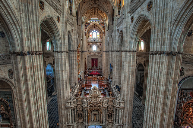 New Cathedral – Catedral Nueva, Salamanca, HDR 2