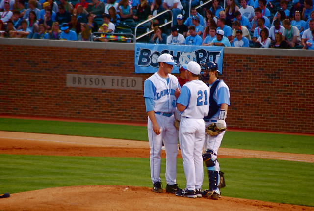 baseball: florida state @ unc, game one