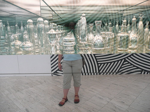 Self-portrait with endless reflections