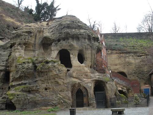 caves - Nottingham Castle