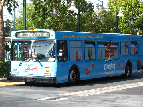 Toy Story Lot Bus