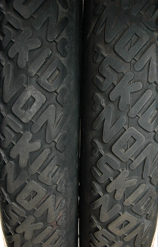 the original non-skid tires