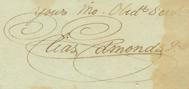 A Lovely Signature, 1796