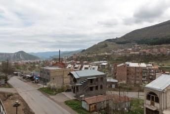 Ik besloot in Goris vlakbij Tatev te overnachten.