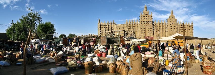 Marktplatz in Djenné
