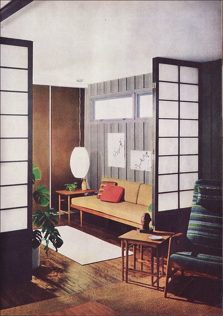 1960s Living Room  Den  Source Better Homes  Gardens